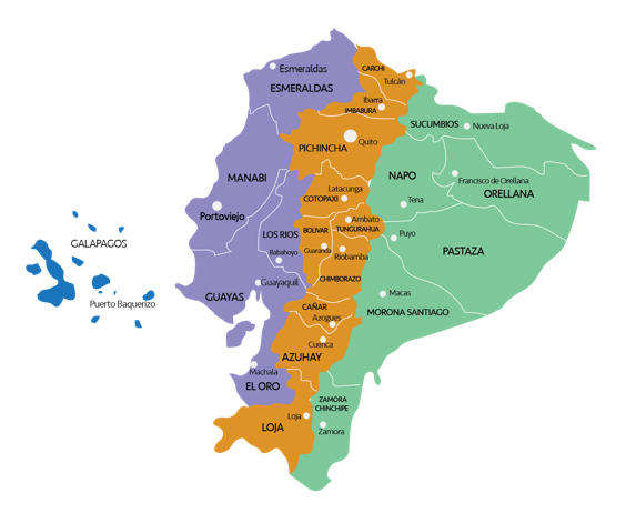 Ecuador location